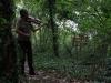 Violini e musica nel bosco di Parco Langer
