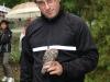 Liberazione di una civetta al Parco Langer
